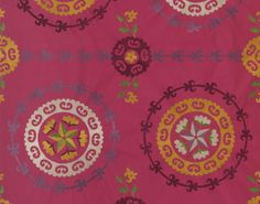 Tachkent in Rose from Pierre Frey Motifs Textiles, Textile Patterns, Pierre Frey Fabric, Deco Boheme, Gorgeous Fabrics, Home Accessories, Tapestry, Rugs, Carpets