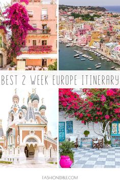 best europe itinerary | best countries in europe | what to do in europe for 2 weeks | 2 week europe itinerary 2 Week Europe Itinerary, Europe Travel Guide, Travel Destinations, Europe Packing, Traveling Europe, Rome Travel, Backpacking Europe, Packing Lists, Travel Packing