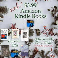 New titles for our Kindle Sale celebrating Advent and Christmas! Different titles every week! Spiritual Discernment, Spiritual Prayers, Spiritual Guidance, Spiritual Wisdom, Light Of Christ, Healing Light, Amazon Kindle, Guide Book, Christmas Sale