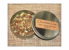 Organic Chocolate Chai Tea by TeaandSensibility on Etsy #hudsonvalley #hvnyteam