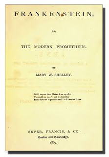 The Book Shelf: Mary Shelley and her Frankenstein 1851