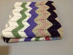 Primeira Fiada: Colcha de crochet