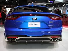 ... the Kia Stinger had just such a history before getting the green light for production as a 2018 model, slated to go on sale next fall.