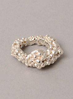 Sterling Silver Orbital Ring