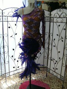 c2f08bc6ce25 Abito tribe viola. Abiti da ballo Vera Scalia · Abiti da Ballo Latino  Americano