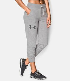 Shop Under Armour for Women's UA Charged Cotton® Tri-Blend Pant in our Womens Bottoms department.  Free shipping is available in US.