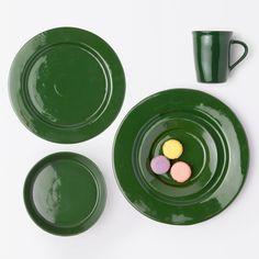 Blue Pheasant Akio Dinnerware (Pack of - Green-Pasta & Soup Bowl Contemporary Dinnerware, Green Dinner Plates, Green Plates, Green Dinnerware, Green China, Pheasant, Candelabra, A Table