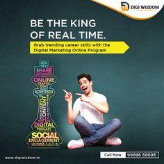 Online Digital Marketing Training with Job Assistance. Online Digital Marketing, Marketing Training, Online Programs, Flexibility, Wisdom, Learning, Live, Back Walkover