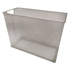 Room Essentials Metal Mesh Table Top File. Sturdy, space-saving design for active files.