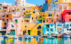 Procida - tiny island off the coast of Naples