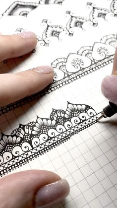 Doodle Art Drawing, Zentangle Drawings, Mandala Drawing, Cool Art Drawings, Zentangle Patterns, Pencil Drawings, Pencil Art, Art Sketches, Mandala Sketch