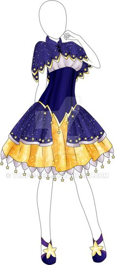 Dress Adoptable 13 - Closed by Tropic-Sea.deviantart.com on @DeviantArt