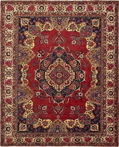 Red Sarab Area Rug