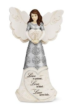 Elements Love Angel Figurine Holding Heart Figurine by Pavilion, 6-Inch, Reads Love is Patient Love is Kind Love Never Fails Elements,http://www.amazon.com/dp/B0078SNA9A/ref=cm_sw_r_pi_dp_UdOgtb0NNBZM8GZ6