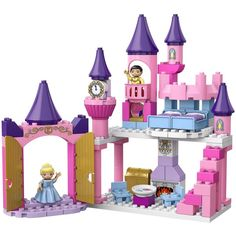 LEGO DUPLO Disney Princess Cinderella's Castle 6154 (77 pcs) ($13) ❤ liked on Polyvore featuring baby toys and toys