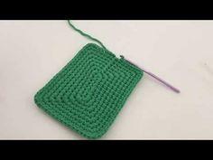 Penye ip ile sepet ve çanta yapımlarında duvar nasıl çıkılır - YouTube
