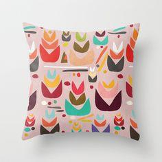 Proud Garden Throw Pillow by Budi Satria Kwan - $20.00