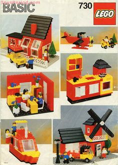 Lego instructions for old sets, bring your lego back to life :)  using this image for ideas