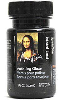 Speedball Mona Lisa Antiquing Glaze for Metal Leaf
