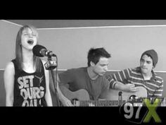 paramore - decode acoustic. This gives me chills everytime. Hayley is amazing