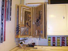 Wall tool storage