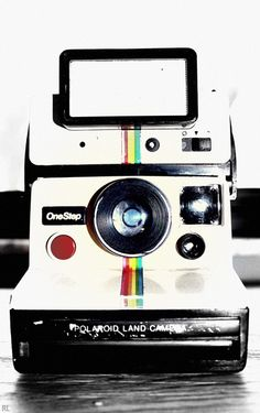 Because all Moments are Important Polaroid Instant Camera, Vintage Polaroid  Camera, Retro Camera, 5b39cc02994b