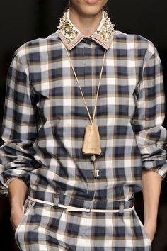 Embellished Collar |  N21 Spring Summer 2012.