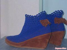 Туфли превращаются в элегантные ботильоны