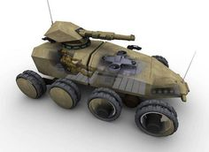 Future Protected Vehicle by Think Defence, via Flickr