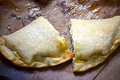 How to roll-out gluten-free pizza dough + calzone recipe.