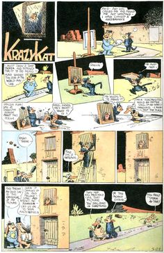 Krazy Kat by George Herriman, considered by many to be the greatest comic strip of all time.