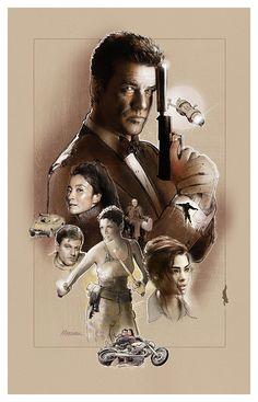 Pierce Brosnan as James Bond, a tribute by Jeff Marshall