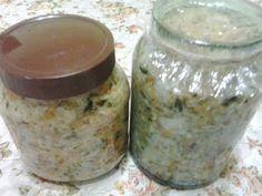 Retete cu margareta cismasiu: Salata de varza pentru iarna Mason Jars, Home Decor, Salads, Decoration Home, Room Decor, Mason Jar, Home Interior Design, Home Decoration, Glass Jars