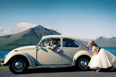 Beetle Wedding Photo