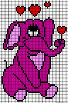 elephant and hearts!!!!!!!!