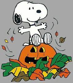 Snoopy Fall Clip Art