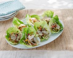 Italian Chicken Salad Recipe in Lettuce Cups by Giada De Laurentiis www.giadaweekly.com @gdelaurentiis