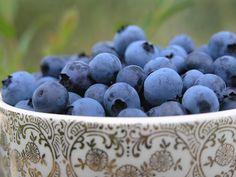 Blueberries...