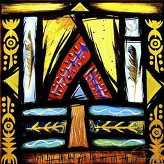 Alec Galloway Galleries - stained glass panels 1