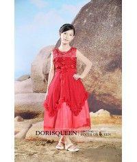 Inflorescence Beading flower girl dress H020