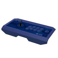 Cool Blue Arcade Stick https://www.retrogamingstores.com/arcade-sticks/ps4-controller-fight-stick-real-arcade-pro-kai-blue-hori-ps4-065u  Love the game with this cool arcade stick.