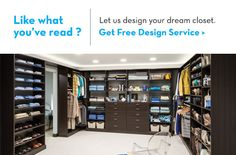 Need help planning your walk-in closet design? Use this guide with the best tips from our design professionals!