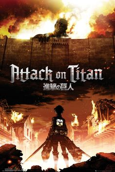 Attack on Titan Key Art - Official Poster
