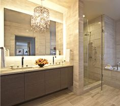 Rules of Elegance and Luxury: The Ritz-Carlton Residences at L.A. Live #architecture #interior #bathroom