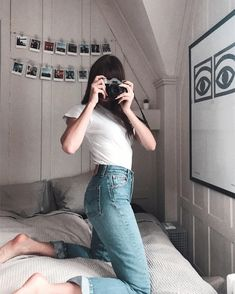 Só ficar na sua cama e segurar uma câmera. Super fácil de reproduzir em casa.