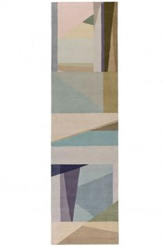 Paul Smith x The Rug Company - Refracted Light Runner - Home Decorating Inspiration Floor Patterns, Textures Patterns, Carpet Flooring, Rugs On Carpet, And So It Begins, Textile Texture, Rug Company, Textiles, Patterned Carpet