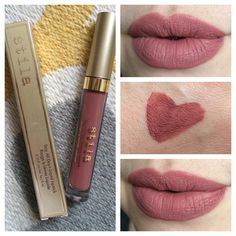 Stila Stay All Day Liquid Lipstick in Firenze, currently a Sephora VIB exclusive shade. Love it! Thanks @fairbyfate for the heads up! #stilafirenze #stayalldayliquidlipstick #stila #sephora