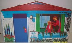 1965 Vintage Barbie & Skipper Deluxe House Rare Hard to Find Sold As Is #Mattel