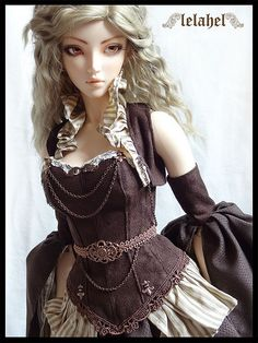 :: Crafty :: Doll :: Steampunk :: Outfit for Perish | by LelahelClothes