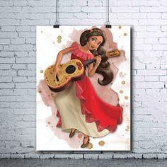 Elena of Avalor Birthday Elena of Avalor Print Elena of
